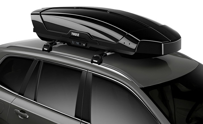 Information of Thule rooftop cargo box