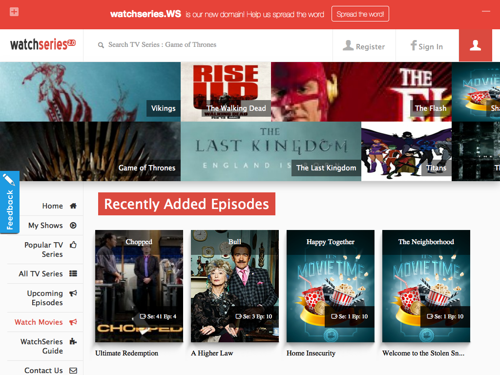 How To View Watch TV Series With English Subtitles Online